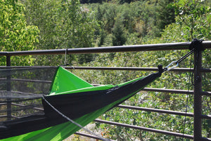 WolfSling One Person (1P) Bug Free Lightweight Hammock with Bug Net