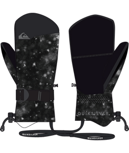Quicksilver Boy's Mission Ski and Snowboard Mitten Space From and Back View