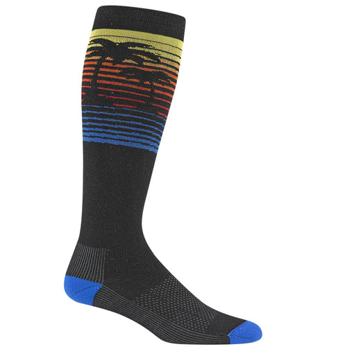 Snow Palm Fusion Sock