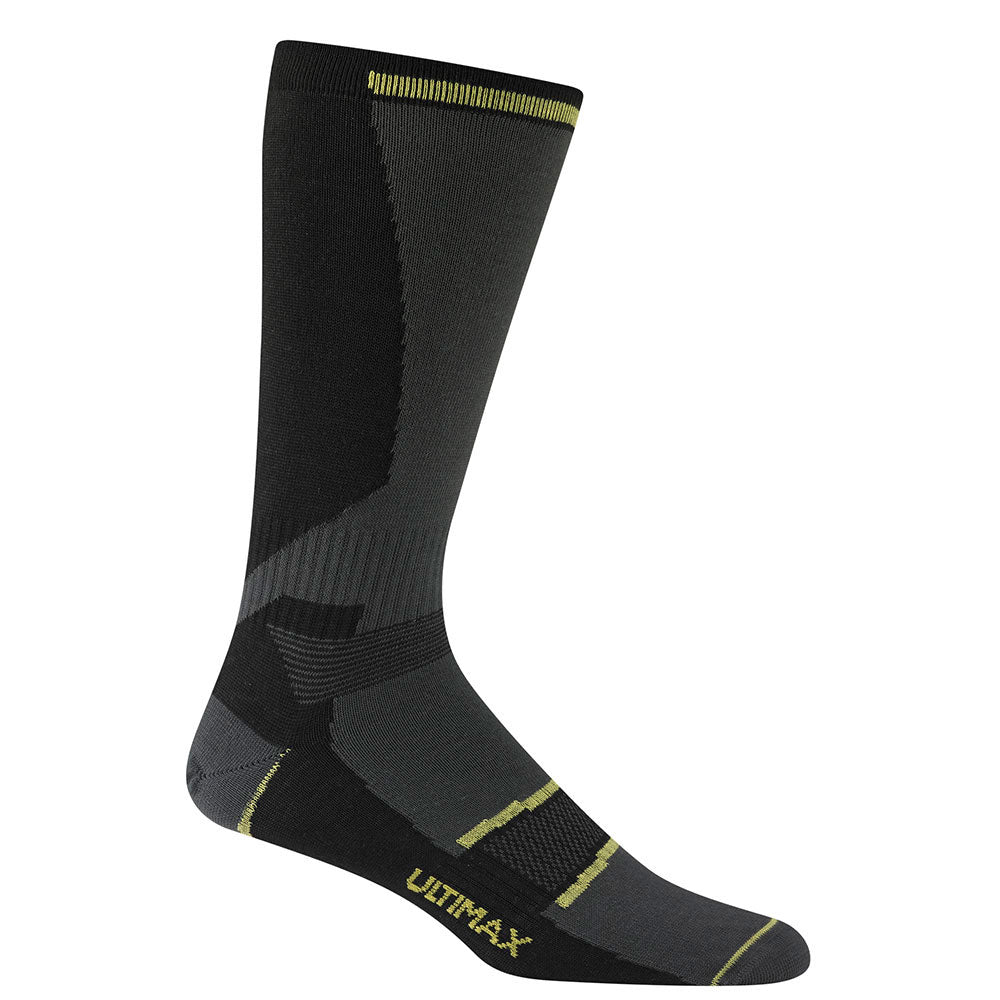 Wigwam Snow Nordic Synthetic Ski Snowboard Ultralight Weight Sock Black Large