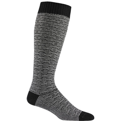 Wigwam Ryn Merino Wool Ultalight weight knee length ski snowboard winter sock black