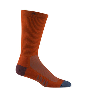 Wigwam Elemental Synthetic Blend Hiking Sock Picante Orange Red