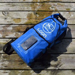 Waterproof Dry Bag included to stash valuables