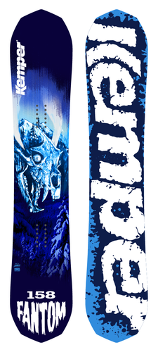 Kemper Snowboards Fantom 20/21 Top and Bottom Sheet