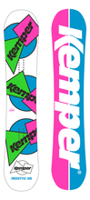 Kemper Snowboards Freestyle 1989/90 All Mountain Snowboard White Top and Bottom Sheet
