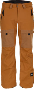 O'Neill mens utility pant 10k waterproof breathable slim fit glazed ginger front