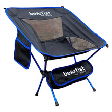BearFist Outdoor 2 pound backpacking camp chair blue main