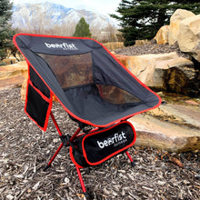 bear fist outdoors camp chair lightweight breathable portable