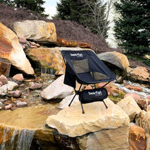 ultralight packable camp chair works on many surfaces
