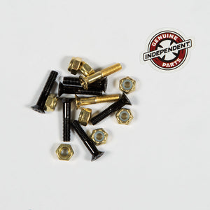 Independent Genuine Parts Phillips 1 inch Black/Gold Hardware Main with sticker