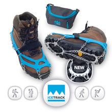 IceTrack Hiking and Mountaineering Crampons