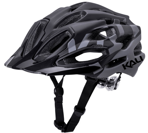 Maraka XC Bike Logo Helmet Matte Black/Grey Medium/Large