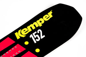 Kemper Apex 1990/1991 152cm Powder Snowboard Tip Close Up