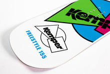 Kemper Snowboards Freestyle 1989/90 All Mountain Snowboard White Tail Close Up Detail