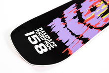 Kemper Snowboards Rampage 1990/1991 Park Freestyle Snowboard Blunt Tail Detail Close Up