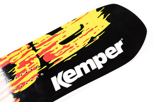 Kemper Snowboards Rampage 1990/1991 Park Freestyle Snowboard Blunt Nose Detail Close Up