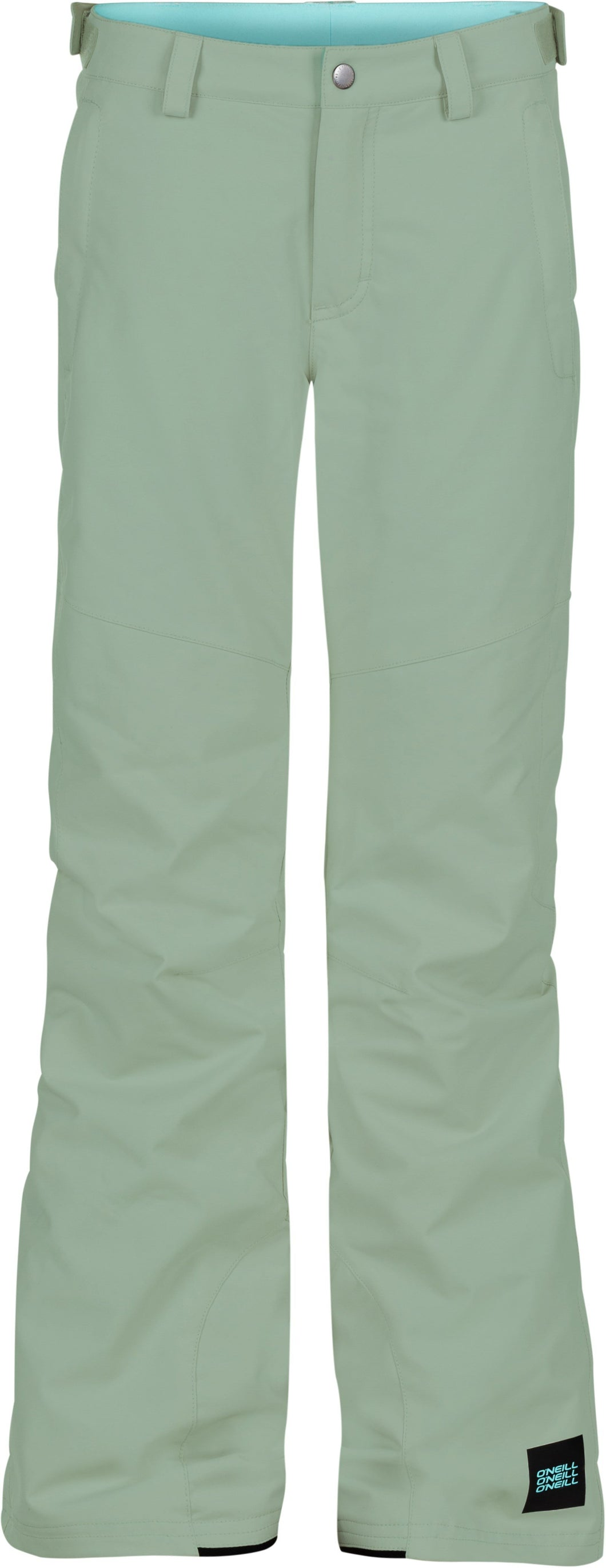 O'Neill Girl's Charm Regular Ski and Snowboard Green Pant Front