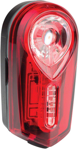 Octodon Rear Taillight with Multiple Lighting Modes: Black