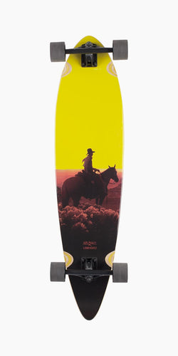 Bamboo Totem Sunset Kid Longboard Complete