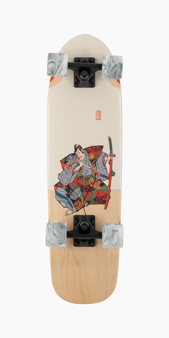 Land Yachtz Dinghy Karaoke Samurai Bottom Graphic View