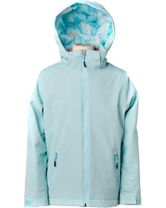 Rojo Outer Wear Maisey Girls Youth Kids insulated winter ski snowboard jacket canal blue