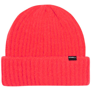 O'Neill Fold Over Beanie Red Front