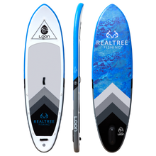 "Loon Paddle Company Realtree WAV3 10'8"" Inflatable Stand Up Paddleboard Main Board Images"