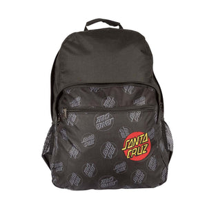 Allover Dot Backpack Black
