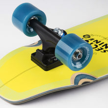 Bat Ray Lime Cruiser Longboard Complete
