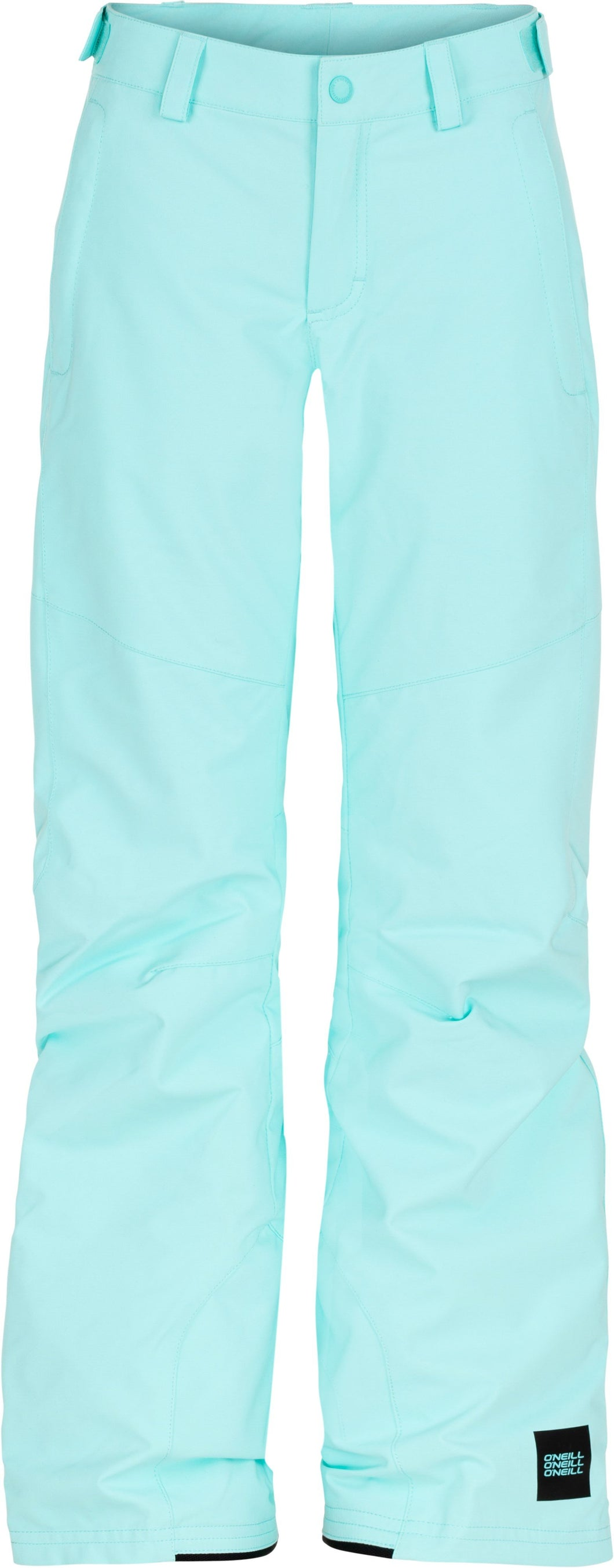 O'Neill Girl's Charm Regular Ski and Snowboard Light Blue Pant Front