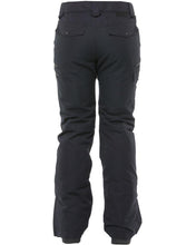Rojo Outer Wear Womans snow pant 20 k waterproof ski snowboard pant true black back
