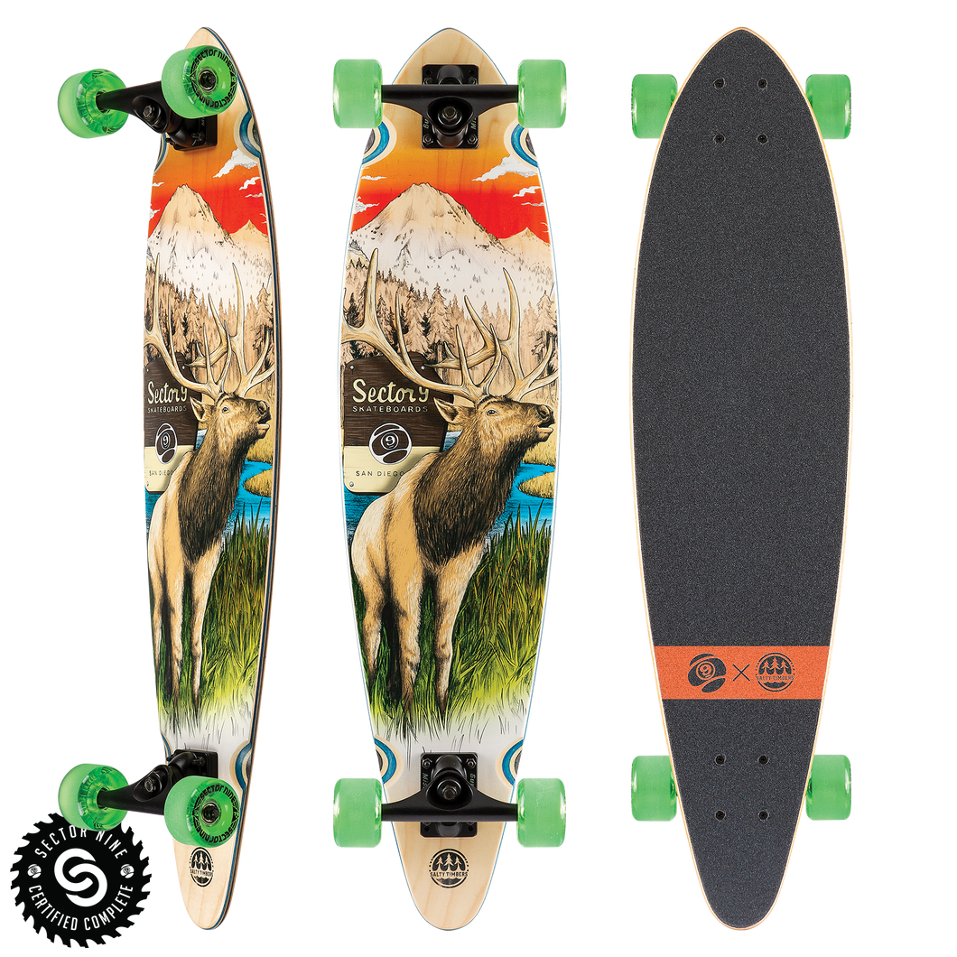 Stag Swift Complete Longboard