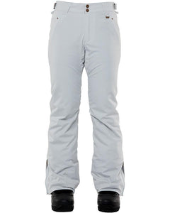 Rojo Outerwear Women's Stretch Jean 20K Waterproof Winter Snow Pant Glacier Grey Main