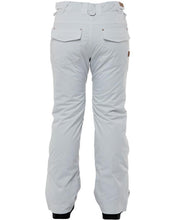 Rojo Outerwear Women's Stretch Jean 20K Waterproof Winter Snow Pant Glacier Grey Back