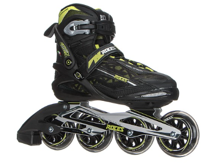 Roces Xenon Inline Skates Black-Acid Green