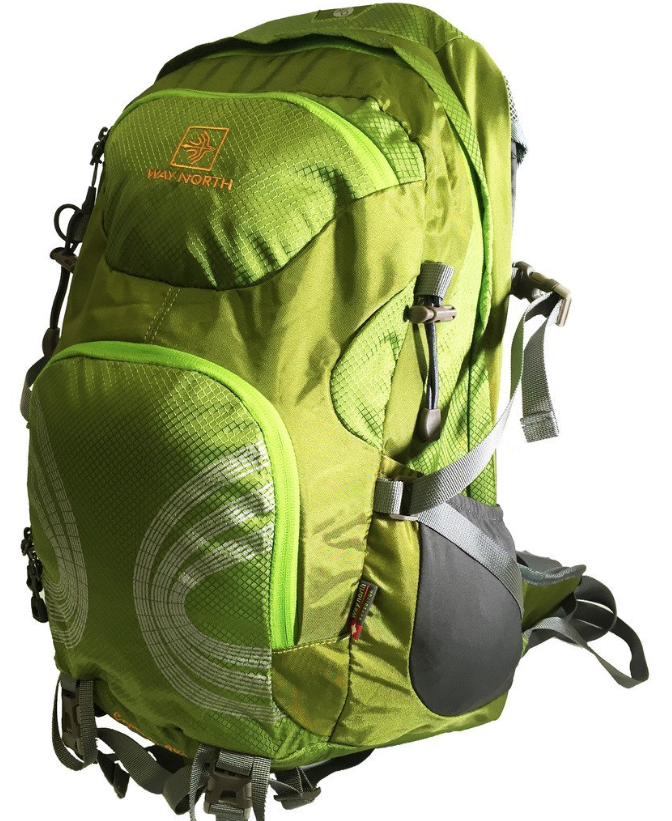 WayNorth Capacity 40Liter Pack Green