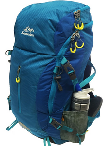 Hiking 50L Pack Blue