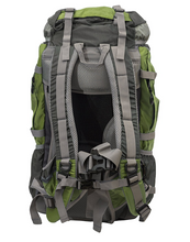 Zion 40L Internal Frame Hiking Daypack Green