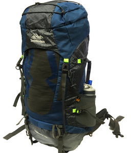 Capacity 70L BackPack Blue