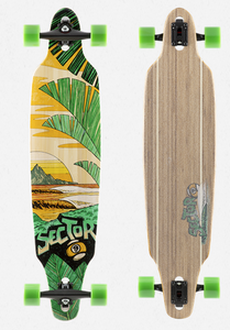 Lookout Drop-Through Freeride Longboard Complete