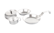 Wolf Traders 5-Piece Aluminum Mess Kit