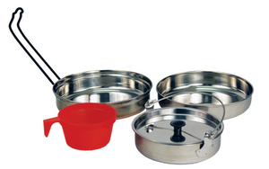 5-Piece Stainless Stainless Steal Mess Kit