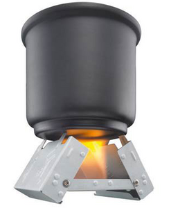 Esbit Large Pocket Stove W/Fuel 12PC