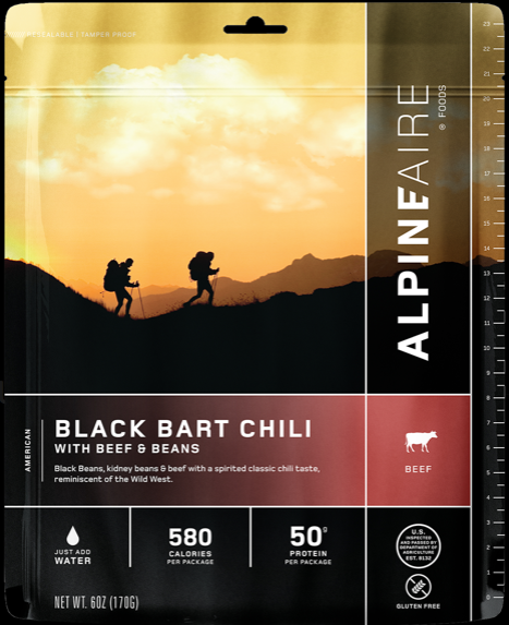 Black Bart Chili with Beef & Beans