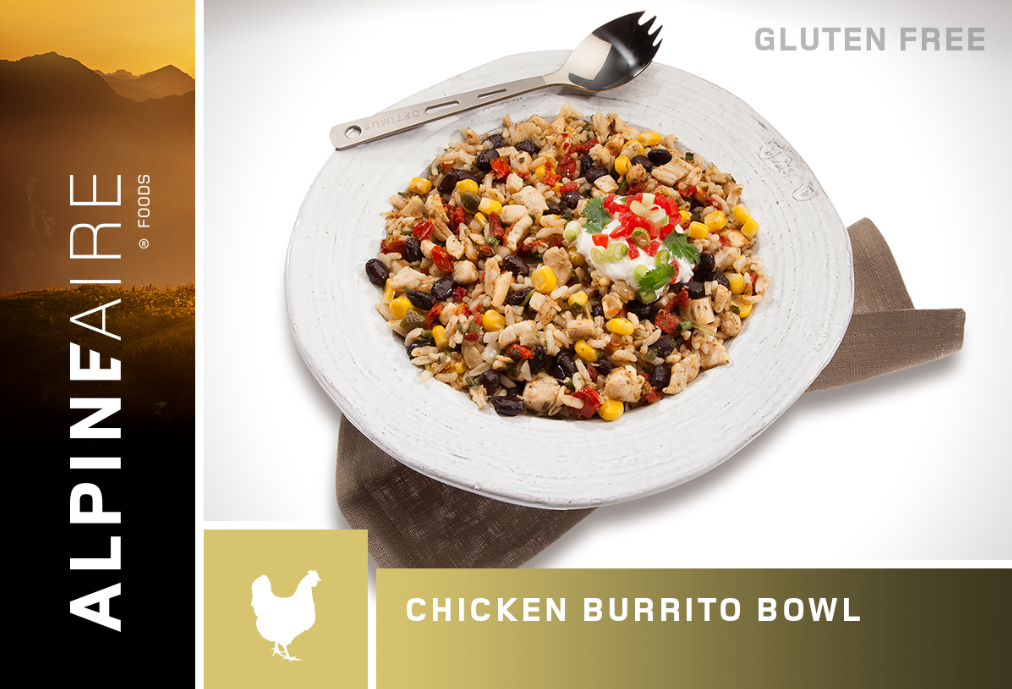 Chicken & Rice Burrito Bowl - 2 Servings