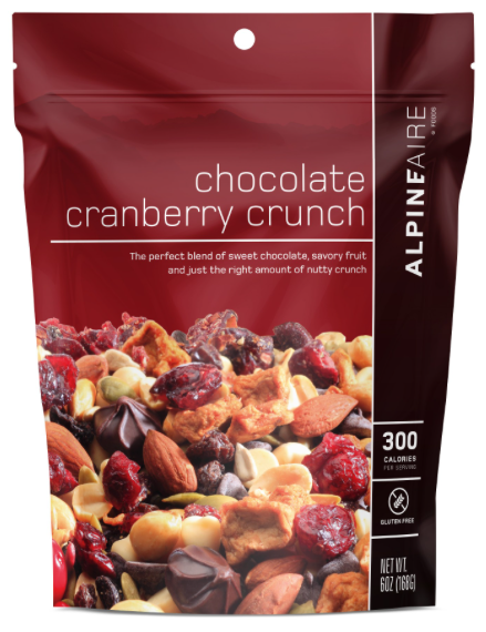 Chocolate Cranberry Crunch 6 oz - 3 Servings