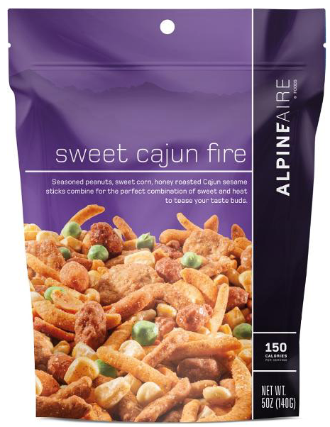 Sweet Cajun Fire Snack Mix