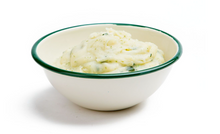 Garlic Herb Mashed Potatoes