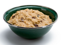 Hot Peanut Butter and Rasin Oatmeal Cereal