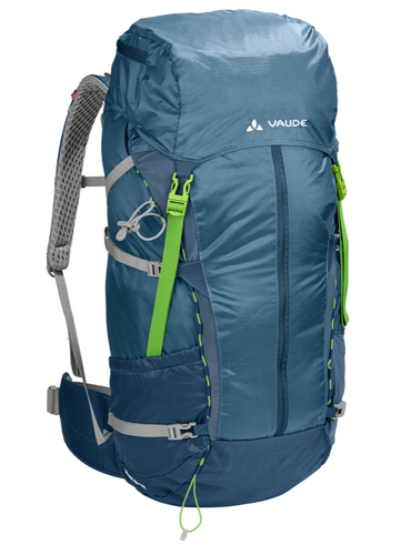 Zerum 48+8 Lightweight Trekking Backpack, Foggy Blue